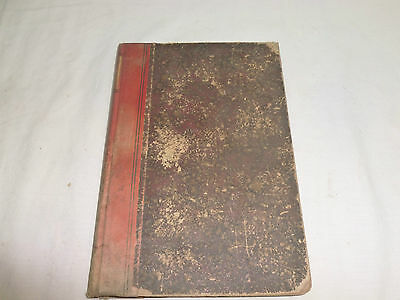 Vtg Old Antique Ornate Display Book The Quick Or The Dead Rives 1888