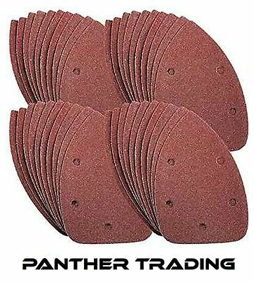 Silverline Mouse Sanding Sheets to Fit Black & Decker Palm Sander 60 Grit Coarse