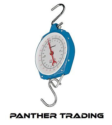 Silverline Heavy Duty Measuring Weighing & Hanging Scales upto 200kg - 251087