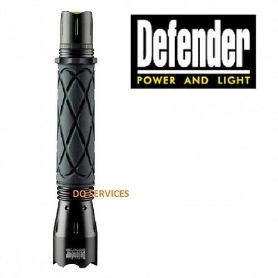 Defender CREE LED Aluminium Hand Inspection Torch 3W- Battery 3 x C E712852