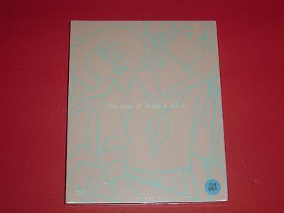 The Case of Hana & Alice Blu Ray Digipack Limited Korean Edition 1st Printing