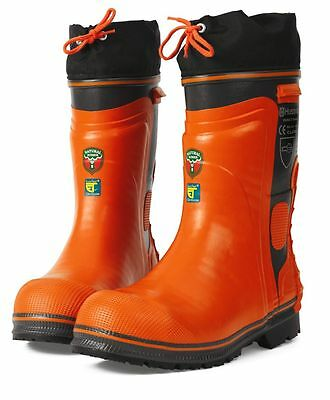 Husqvarna 573955842 Chainsaw Safety Boots Size 10.5 (45)