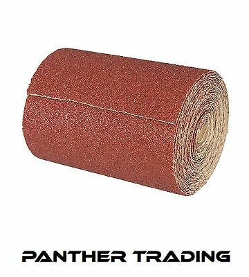 Silverline Decorators 10m Aluminium Oxide Sandpaper Roll 10M Various Grit Sizes