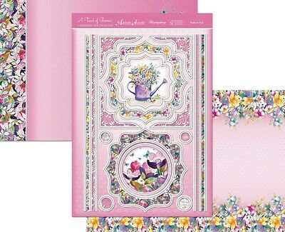 Hunkydory A TOUCH OF SHIMMER Topper Set ~ Pretty in Pink