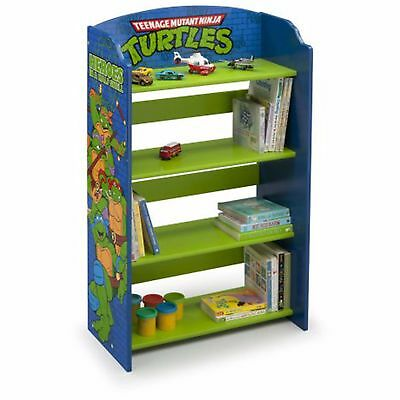 Teenage Mutant Ninja Turtles Bookcase Bedroom Furniture Playroom Decor Boys New