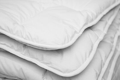 MERINO WOOL PURE DUVET QUILT COTTON - 100% NATURAL ,  500 gsm white brand new