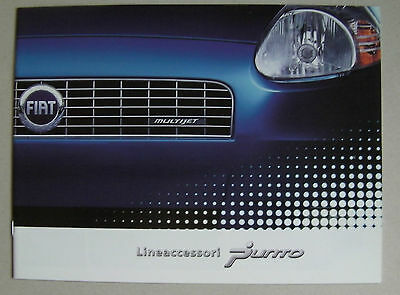 Fiat Punto 2006 Range Lineaccessori Car Brochure. Accessories Need For Speed Kit