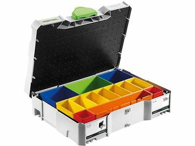 Festool SYS 1 BOX Sortainer with Removable Containers SYS 1 T-LOC - 497694