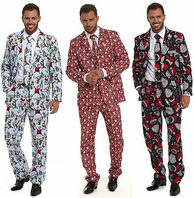 New Mens Stag Stand Out Stag Do Suits Party Funny Fancy Dress Costume Outfit