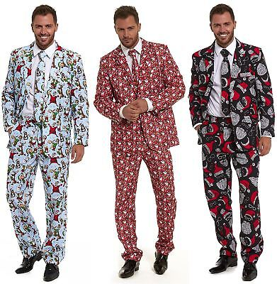 Stag Do Suits Party Fancy Paty Mens Costume Outfit Stand Out Christmas 2017