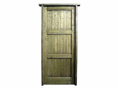 Antique Single Solid Door #D1214