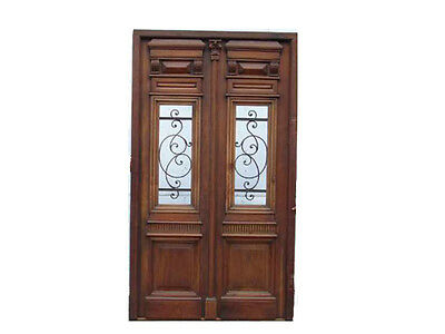 Antique Fully Restored Double Entry Door #A1314