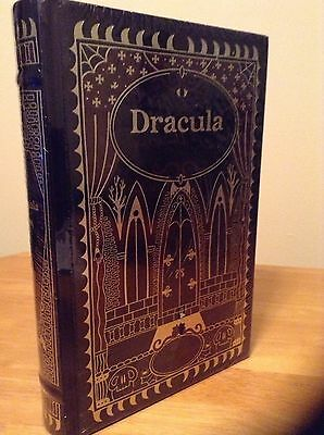 Dracula and Other Horror Classics by Bram Stoker Leather Bound Hardback