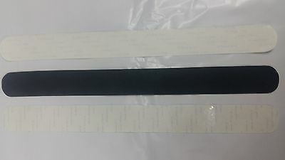 Protectors Blades paddle transparent and Negros.Medidas 35x370