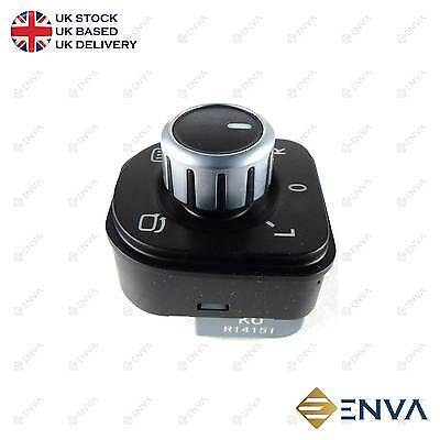 Brand New Volkswagen GOLF MK5 MK6 2006 - 2013 Chrome Mirror Control switch Knob