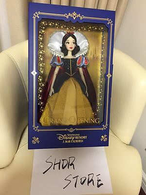 Limited Edition Shanghai disney resort Grand Opening Snow white Doll LE 1200