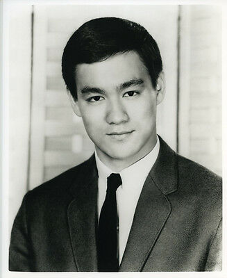 Bruce Lee - Beautiful 8x10 BW Photo from personal negative