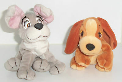 Lady and the tramp Disney cuddly toys