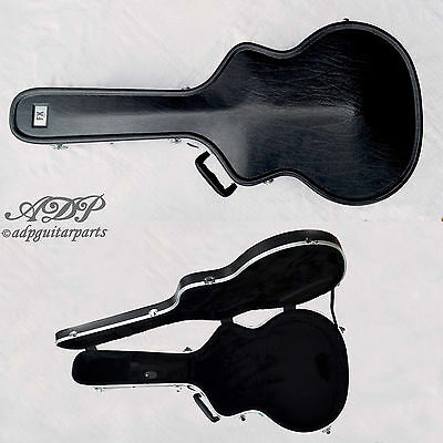 "ETUI RIGIDE ABS GUITARE ELECTRO-ACOUSTIQUE Jumbo Archtop 17"" Hard Flight Case"