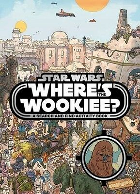 Star Wars Where's the Wookiee? Search Find Children Kids Activity Paperback Book
