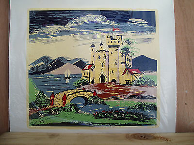 Two Canal Art Transfers, Both The Same, Castles