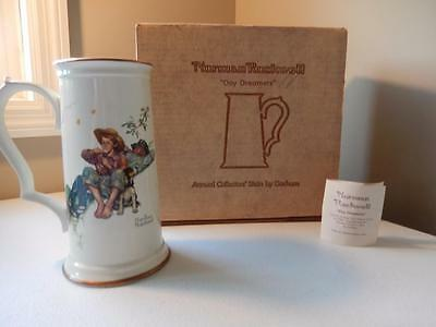 Norman Rockwell DAY DREAMERS Annual Collectors Stein by Gorham Ltd Ed #5806