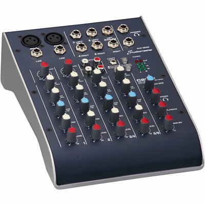 Studiomaster C2S-2 Compact Mixer with USB
