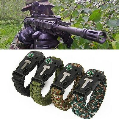 Special Ops Official Survival Paracord Bracelet 5in1