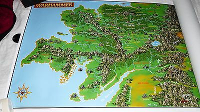 Hogshead Publishing Poster Map of the Empire. Warhammer Fantasy / WFRP