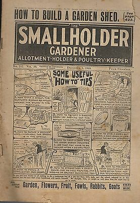 1923 1 DEC No 717 52803  The Smallholder Allotment Holder And Poultry Keeper