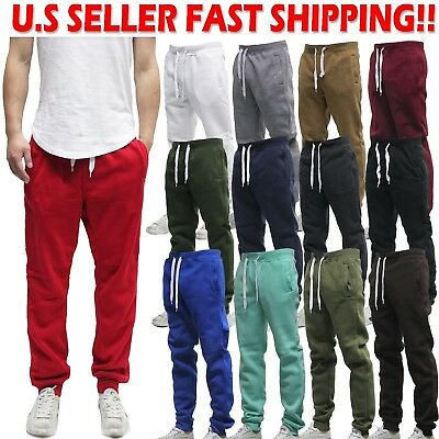 Southpole SP Jogger Pants Active Solid Fleece Sweat Pants 9001-1570S
