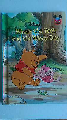 Disney's Winnie The Pooh And The Windy Day Hardback Fiction Book