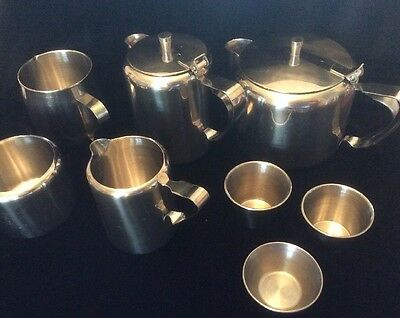 Stainless Steel Lot Restaurant Serving Pieces (8) ~ FREE SHIPPING