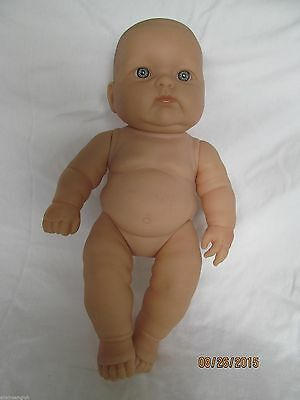"Berenguer doll for reborn projects 13"" blue eyes"