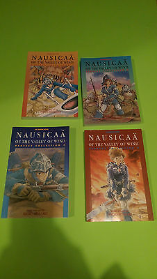 Nausicaa of the Valley of the Wind Perfect Collection Vol 1-4 Graphic Novel UKEU