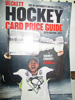 Beckett Hockey Annual Price Guide 26Th Edition 2017  New