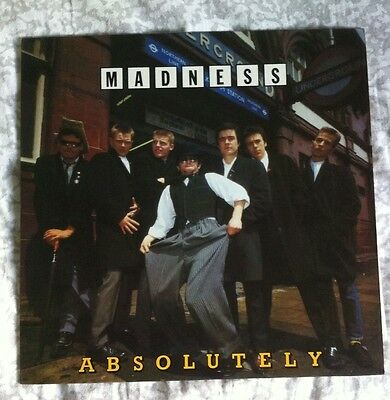 Lp - 33 giri - Madness - absolutely - 1980 stiff - Made In Germany 6.24511