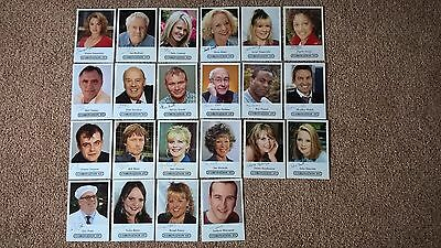 22 Coronation Strees Actors Cards