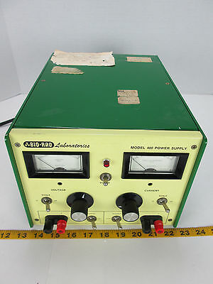 Bio-Rad Laboratories Model 400 Electrophoresis Power Supply Biorad GS