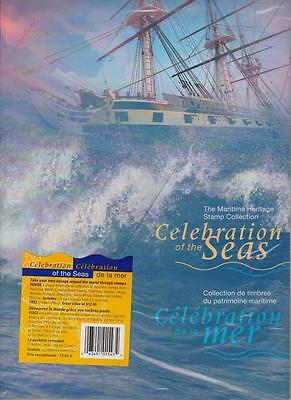 Canada Post 1999 *celebration Of The Seas* Booklet Set (17) Stamps Mint