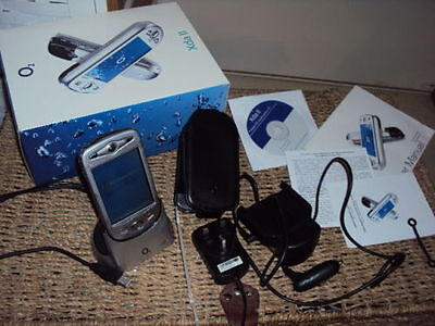 ORIGINAL BOXED XDA II Mobile Phone/Pocket PC All In 1 Handheld PDA ON O2, TESCO