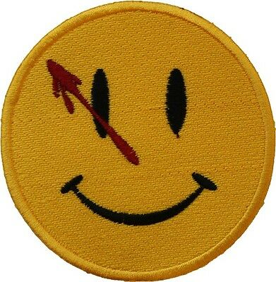 Watchmen Badge Embroidered Patch Sew-on or Iron-on 9cm