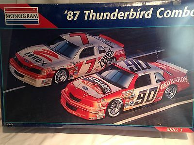 Monogram #6392 1987 Thunderbird Nascar Model Kit (New)