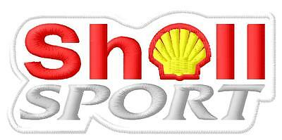 Shell Sport ecusson brodé patche Thermocollant iron-on patch