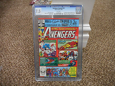Avengers Annual 10 cgc 7.5 1st appearance of Rogue Madelyn Pryor X-Men movie TV