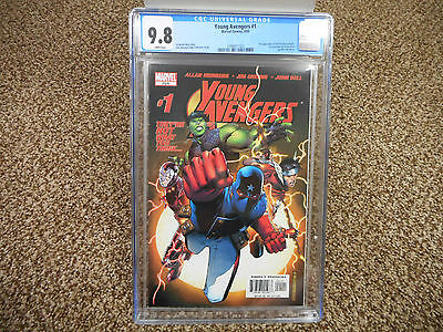 Young Avengers 1 cgc 9.8 Marvel 1st appearance Kate Bishop 2005 movie teen youth
