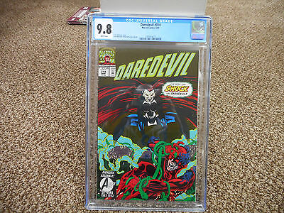 Daredevil 314 cgc 9.8 1st appearance of Shock Marvel 1993 WHITE pages TV show