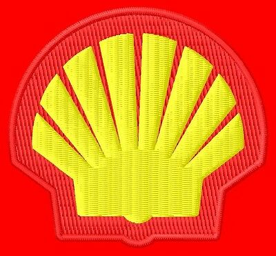 Shell ecusson brodé patche Thermocollant iron-on patch