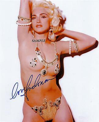 Madonna #3 Reprint Autographed Signed Picture Photo Collectible Auto Rp