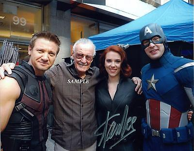 Stan Lee #2 Reprint Autographed Signed Picture Photo Auto Avengers Collectible